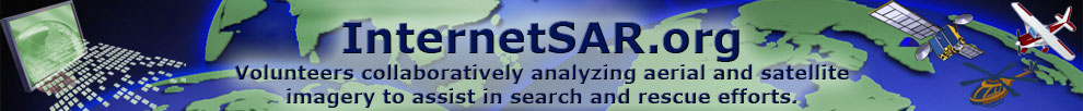 InternetSAR.org: Volunteers collaboratively analyzing aerial and satellite imagery to assist in search and rescue efforts.